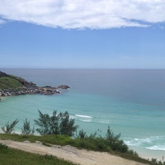 Photo taken at Praia Grande by Odirlei S. on 1/3/2012