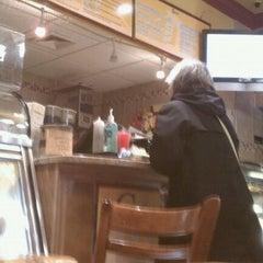 Photo taken at Brooklyn Bread Cafe by Matthew B. on 2/25/2011