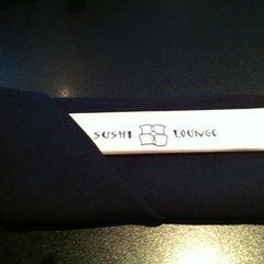 Photo taken at Sushi Lounge by Dawn P. on 4/27/2012