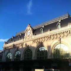 Photo taken at Gare de Lyon-Brotteaux by Nicolas D. on 6/20/2012