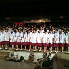 Photo taken at โรงเรียนวัฒนาวิทยาลัย (Wattana Wittaya Academy) by Piraya C. on 1/29/2012