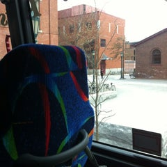 Photo taken at Megabus Station by Dana I. on 2/29/2012