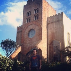 Photo taken at Caleruega Church by Jhoie B. on 2/25/2012