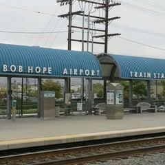 Photo taken at Metrolink Burbank-Bob Hope Airport Station by Brian M. on 5/11/2012