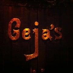 Photo taken at Geja's Cafe by Sarah M. on 2/22/2011