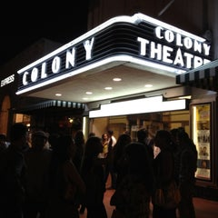 Photo taken at Colony Theater by Piermichele G. on 3/4/2012