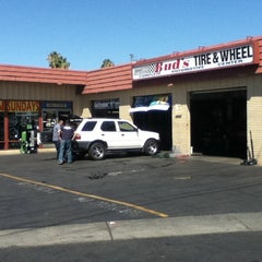 Photo taken at Bud's Moreno Valley Tire Pros by Eddy M. on 9/2/2011