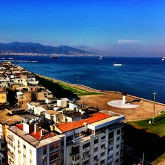 Photo taken at Ege Palas Business Hotel by Omur G. on 9/24/2011