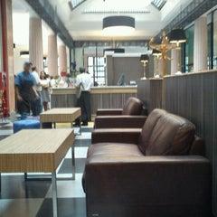 Photo taken at San Antonio Caffé by Hans S. on 1/18/2012