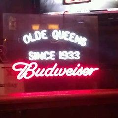 "Photo taken at Olde Queens Tavern by Breon ""FLATLINE"" S. on 8/11/2011"