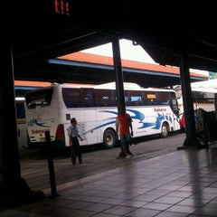 Photo taken at Terminal Purabaya (Bungurasih) by Pandu R. on 2/23/2012