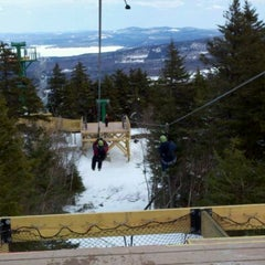 Photo taken at Gunstock Mountain Resort by Brian U. on 3/4/2012