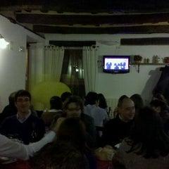 Photo taken at Trattoria Montechiaro by michele l. on 2/19/2011