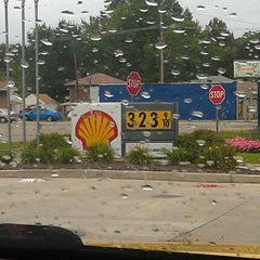 Photo taken at Shell by Kellie L. on 10/2/2011