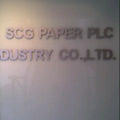 Photo taken at SCG Paper PLC by Kriangkrai W. on 6/22/2012