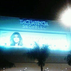 Photo taken at Taguatinga Shopping by Vinicius A. on 11/1/2011