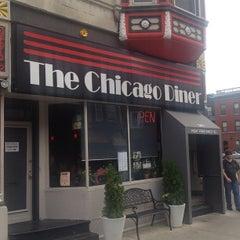 Photo taken at Chicago Diner by Jon-o G. on 7/22/2012