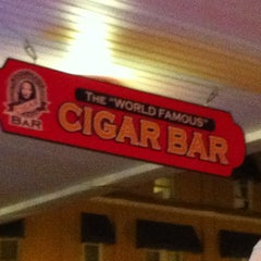 "Photo taken at The ""World Famous"" Cigar Bar by Clau D. on 11/24/2011"
