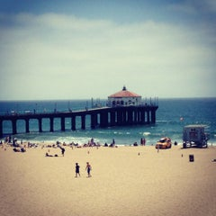 Photo taken at Manhattan Beach Pier by Ever H. on 6/22/2012