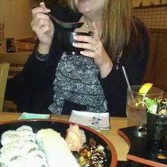 Photo taken at Crazy Sushi by Joy L. on 12/22/2011