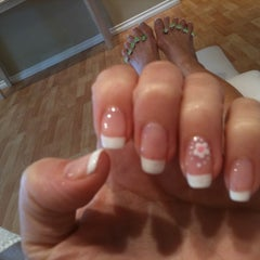 Photo taken at Bellemani nail salon by Maria B. on 9/2/2011