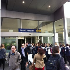 Photo taken at Bondi Junction Station by Orlando on 6/20/2011