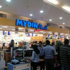 Photo taken at Mydin Mall by Ekay K. on 3/13/2012