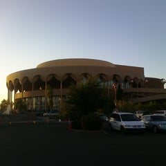 Photo taken at ASU Gammage by ✈--isaak--✈ on 5/4/2011