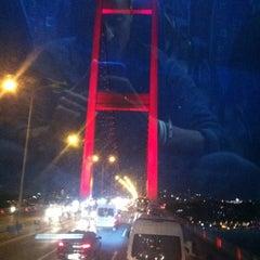 Photo taken at Boğaziçi Köprüsü Gişeleri by 🅰ntonio E. on 5/29/2012