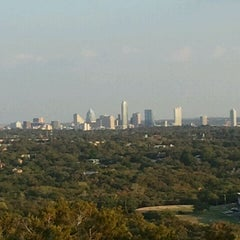 Photo taken at Covert Park at Mt. Bonnell by Aby T. on 8/27/2011