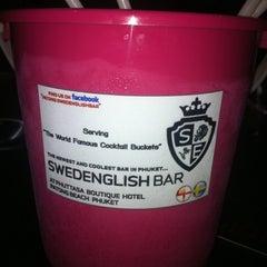 Photo taken at Swedenglish Bar by Phil H. on 5/27/2011