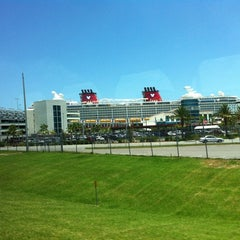 Photo taken at Port Canaveral by Joe R. on 7/8/2012