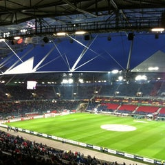 Photo taken at HDI Arena by Volkmar L. on 4/5/2012