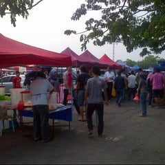 Photo taken at Bazaar Ramadhan Seksyen 7 by kumir a. on 8/13/2012