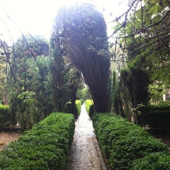 Photo taken at Jardins de la Cartoixa by Aitor M. on 9/1/2012