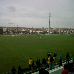 Photo taken at Estadio Alcochete by João P. on 10/23/2011