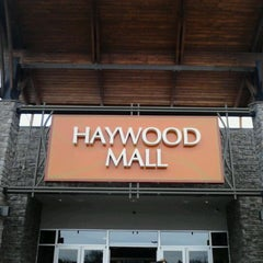Photo taken at Haywood Mall by Linda M. on 2/6/2012