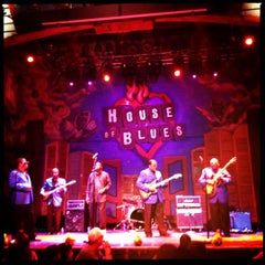 Photo taken at House of Blues New Orleans by Melinda S. on 4/29/2012