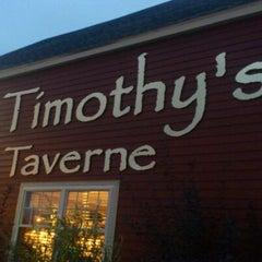 Photo taken at J. Timothy's Taverne by Rakesh R. on 10/12/2011