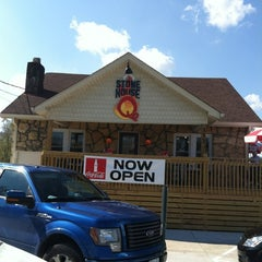 Photo taken at Stone House Q by Anne W. on 10/29/2011