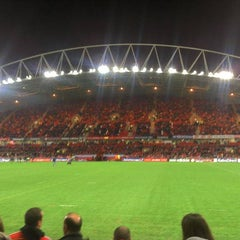 Photo taken at Thomond Park by Dries D. on 11/26/2011