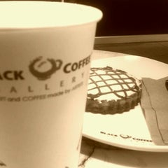 Photo taken at Black Coffee Gallery by Sergio Garval by Guillermo R. on 2/11/2012