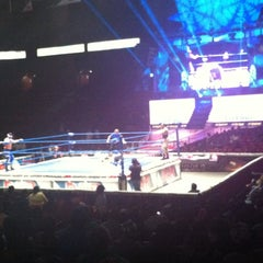 Photo taken at Arena México by Braulio V. on 7/14/2012