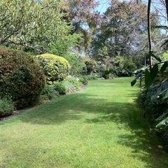 Photo taken at E.G. Waterhouse National Camellia Gardens by Kim on 9/16/2011