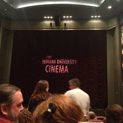 Photo taken at Indiana University Cinema by Colleen Y. on 5/2/2012