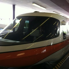 Photo taken at Monorail Orange by Stephen G. on 7/16/2012