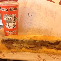 Photo taken at Tony Luke's by Alaina on 2/20/2012