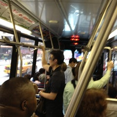 Photo taken at MTA Bus M57 by Joe B. on 5/29/2012