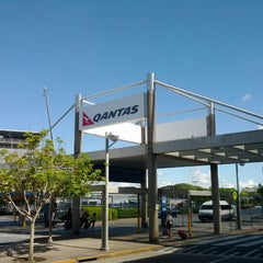 Photo taken at Brisbane Domestic Terminal by Ramon D. on 2/3/2012