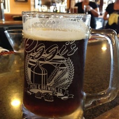 Photo taken at Oggi's Pizza & Brewing Co. by Roger C. on 8/17/2012